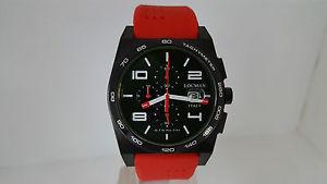 【送料無料】orologio locman stealth 209 uomo acciaio pvd titanio chrono datario watch