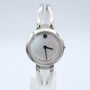 【送料無料】movado womens quartz watch 0606813sd