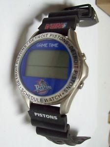 【送料無料】detroit pistons gametime watch