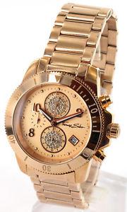 【送料無料】thomas sabo damen chronograph wa0192 ros, uvp 339,neu