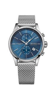 【送料無料】boss herrenuhr 1513441 analog chronograph edelstahl silber