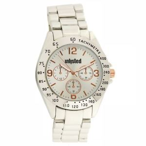 【送料無料】kenneth cole womens unlisted chronograph tachymeter watch 10032077 msrp 4999