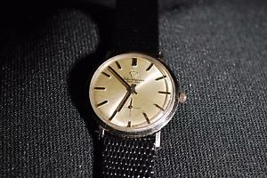 【送料無料】vintage jules jurgensen solid 14k gold watch
