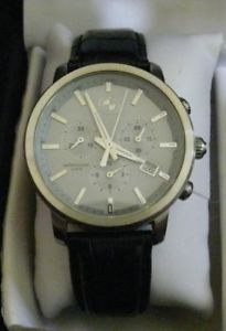 【送料無料】mens bmw chronograph swiss made wrist watch