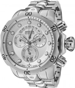 【送料無料】invicta mens venom swiss quartz chronograph stainless steel 100m watch 1537