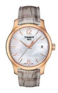 【送料無料】tissot tradition lady damenuhr t0632103711700