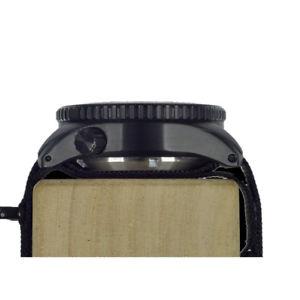 mwc 1000mt automatico acciaio pvd nero zaffiro ceramica tessuto orologio uomo