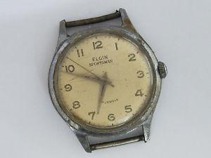 【送料無料】elgin sportsman 17j model wristwatch  7541
