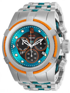 【送料無料】invicta mens jason taylor swiss quartz chrono 200m stainless steel watch 25307