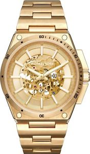 【送料無料】michael kors mk9027 wilder stainless steel gold tone automatic men watch