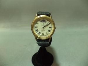 【送料無料】vintage peugeot lady moon phase dual tone analog quartz watch works