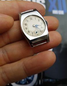 【送料無料】art deco 1930 1940 montre bracelet femme vintage ancienne nos mecanique