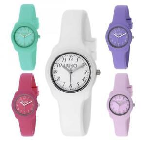 【送料無料】orologio donna liu jo luxury collezione junior silicone colorato estate