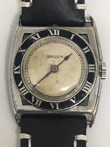【送料無料】gruen vintage watch, 15 jewels