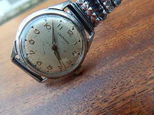 vintage mens leonidas pre heur watch keeps good time international