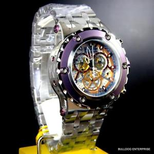 invicta reserve specialty subaqua swiss made cosc ssteel 52mm chrono watch
