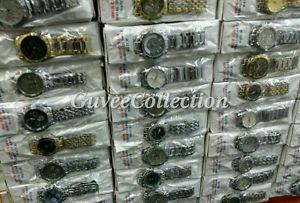 【送料無料】whole joblot of 10 mens assorted random fashion wrist watches