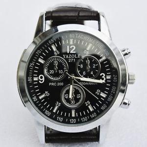 【送料無料】mens yazole 271 fashion luxury brand chronograph watch working condition