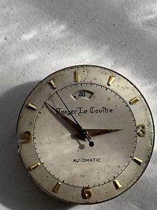 【送料無料】vintage lecoultre 481 power reserve watch movement runs