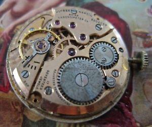 8da31b02036d 【送料無料】vintageulyssenardinchronometercomovement 男女兼用腕時計 最安