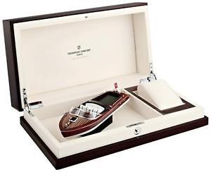 【送料無料】 frederique constant runabout series wooden watch box with boat