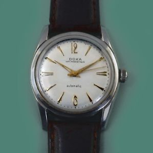 all adjusted watch 1950s automatic stainless 【送料無料】vintage doxa movement