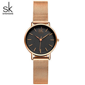 【送料無料】shengke luxury women watches ladies fashion casual quartz watch relogio femi