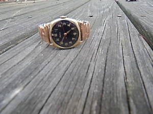 【送料無料】vintage alpina 15 jewels gold filled wristwatch 588 movt nice international