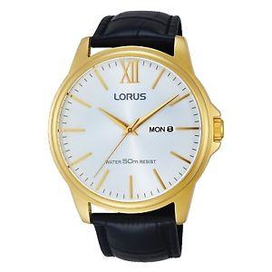 【送料無料】lorus gents gold plated watch lnp rxn16dx9