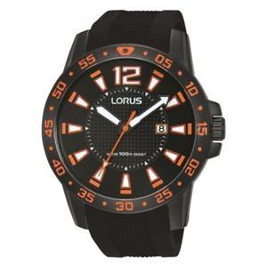 【送料無料】lorus gents rubber strap watch rh931fx9 lnp