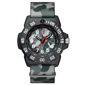 【送料無料】luminox 3507ph mens navy seal 3500 swiss grey strap dive watch
