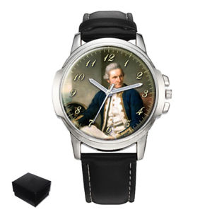 【送料無料】captain james cook gents mens wrist watch gift engraving