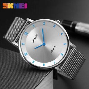 【送料無料】fashion casual watches mens quartz watches ultra thin stainless steel watch clo