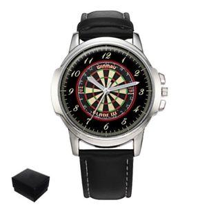 【送料無料】darts dartboard mens wrist watch gift engraving