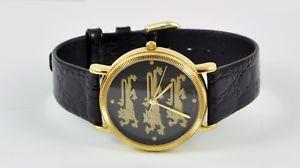 【送料無料】beautiful 3 lions mens swiss made quartz watch, never been worn