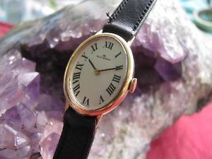 【送料無料】vintage bucherer 18k gold ladies swiss made manual wind wrist watch