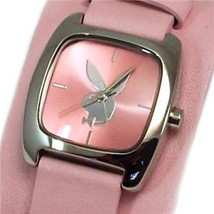 【送料無料】playboy pink cuff strap ladies designer fashion watch pb0128pk