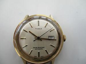 【送料無料】watch head, by timex, automatic for spare parts only