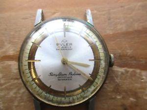 【送料無料】vintage bvler watch, doesnt run for spares