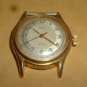 【送料無料】genuine vintage net incabloc wind up watch lot q3