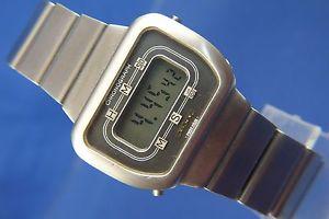 neues angebotvintage retro longines quartz lcd digital watch circa 1970s esa 942711