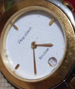 【送料無料】philip watch reflexion high d quality but not working swiss 7 jeta 950 414