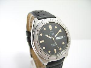 yema 330ft montre vintage de plongee diver watch