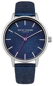 【送料無料】daisy dixon naomi ladies blue glitter strap watch dd032us rrp 45