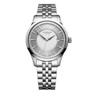 【送料無料】victorinox swiss army 241822 mens alliance steel bracelet watch