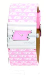 【送料無料】golddigga ladies pink strap hifashion watch