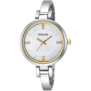 【送料無料】pulsar ladies swarovski stainless steel bracelet watch ph8033x1pnp