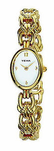 【送料無料】yema ladies gold plated watch ym918ynp