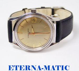 【送料無料】eternamatic 3000 automatic watch c1970 cal1466u* exlnt* serviced