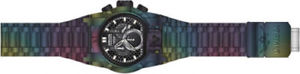 25212 invicta mens reserve chronograph iridescent tone stainless steel watch